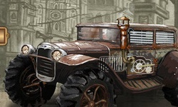 Steam Punk Truck Race