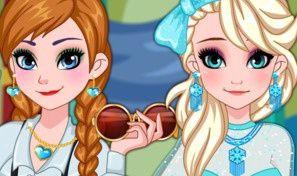 Original game title: Frozen Sisters Graduation Makeover