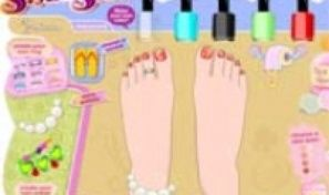 Original game title: Stylin Stuff Pedicure