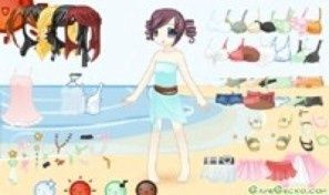 Doll Beach Dress Up