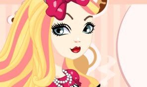 Original game title: Apple White Hat-Tastic Party Dress-Up