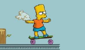 Bart On Skate