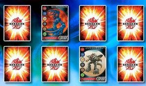 Original game title: Bakugan Concentration