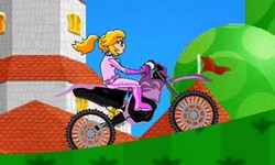 Peach Biker
