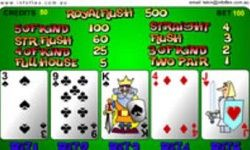 Video Poker Desenat