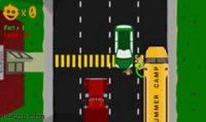 Original game title: School Bus Frenzy