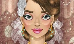 Maquillage Glamour de Mariée