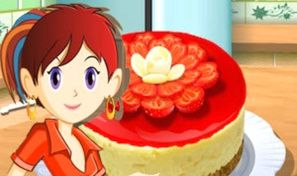Original game title: Sara's Cooking Class: Berry Cheesecake
