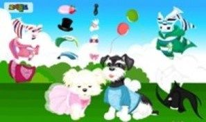 Original game title: Two Puppy Dress Up