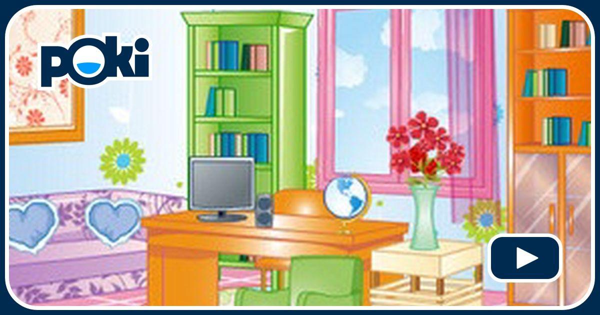 Decora ufficio ragazza online gioca gratis su for Decora la stanza di violetta