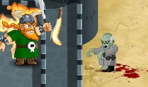 Original game title: Zombie Defense Game