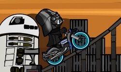 Dark Vador en Moto