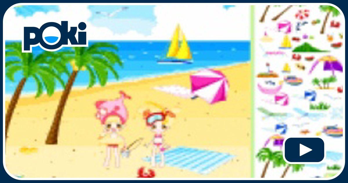 Decoraci n de playa online juega gratis en paisdelosjuegos - Juegos gratis de decoracion ...