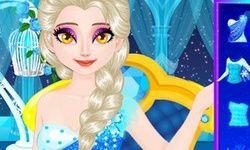 Elsa's Sparkling Eyelashes