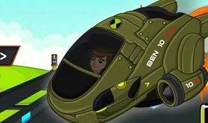 Original game title: Ben10 Speed Racer