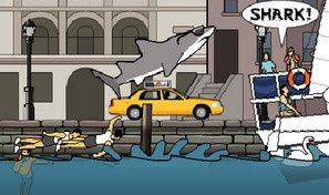 Original game title: New York Shark