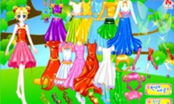 Shiney Princess Dress up 4
