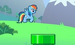 Flappy Rainbow Pony