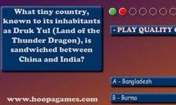 Geografi Quiz: Asien