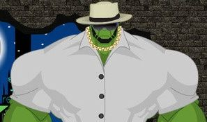 Original game title: Hulk Dress Up