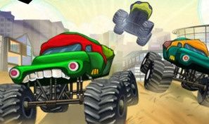 Original game title: Ninja Monster Trucks