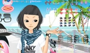Original game title: Spring Make Up Girl