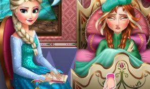 Anna Frozen Flu Doctor