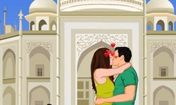 Tajmahal Kissing