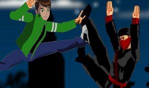 Original game title: Ben 10 Vs Ninja
