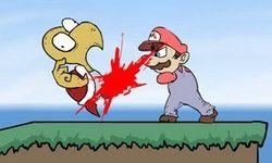 Vechten met Mario Deluxe