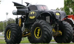Monster Truck Batman