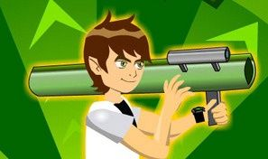 Original game title: Ben10 Bazooka
