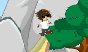 Original game title: Rocket Skateboard