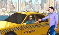 Sofer de Taxi in New York
