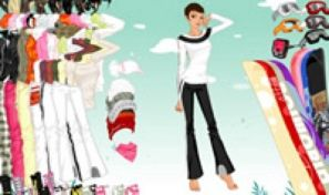 Snow Dress Up Game