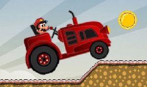 Original game title: Tractor Mario Vs Bullet Bill