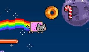 Original game title: Nyan Cat: Lost in Space