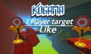 Original game title: Kogama: 2-Player Target Parkour