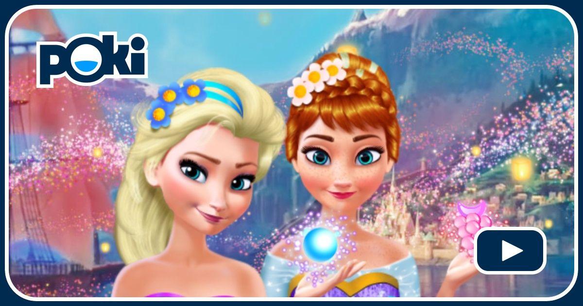 Anna Und Elsa Spiele Kostenlos Spielen