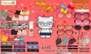 Original game title: Hello Kitty Designing