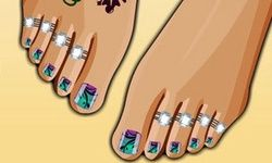 Summer Stylish Pedicure