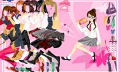School Girl Dress Up