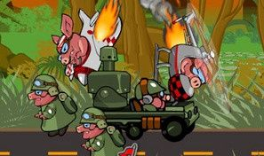 Original game title: Kamikaze Pigs