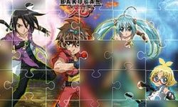 Bakugan Puzzle Collection