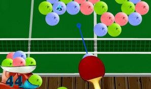 Original game title: Tennis - Bursting Balls