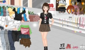 Original game title: Shoppincentre Dress Up