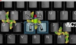 Keyboard Action Hero