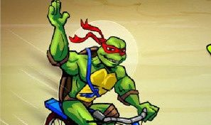 Original game title: TMNT Ninja BMX