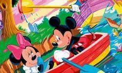 Puzzle cu Mickey si Donald