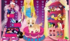 Original game title: Barbie and her Cute Dog